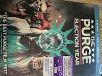 The Purge Electric Year DVD case Chillicothe, 45601