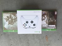 White xbox one game controller with box Denver, 80211