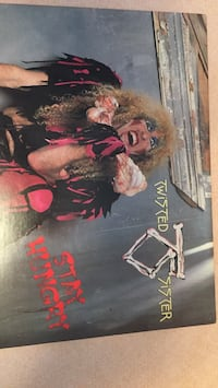 Twisted Sister Stay Hungry album.