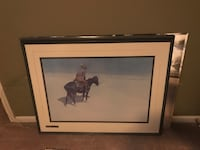 Remington Painting-The Scout Blue Springs