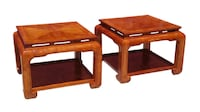 Pair of Ming End Tables Albuquerque