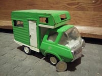 green and white toy truck Sainte-Julienne, J0K 2T0