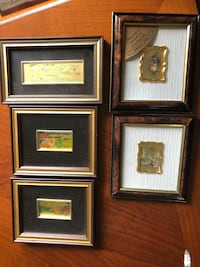 Set of small decorative frames Laval, H7Y 1M7