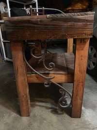 Rustic Reclaimed Wood & Iron Table Fremont, 94538