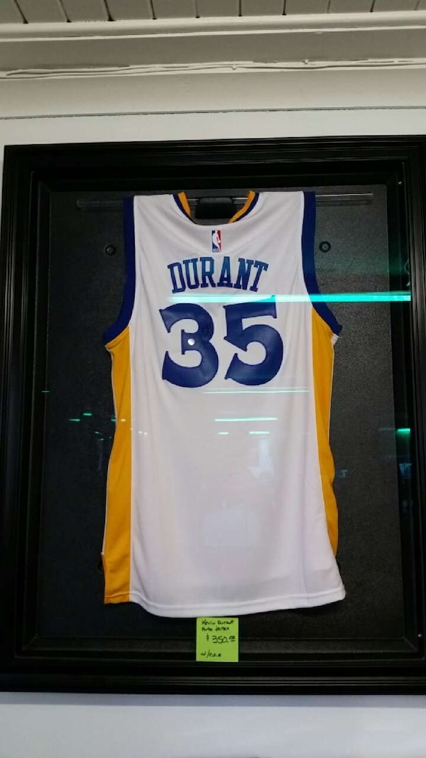 new style 87281 698b3 KEVIN DURANT AUTOGRAPHED JERSEY with COA
