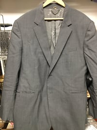 Burberry men's wool jacket sz 48