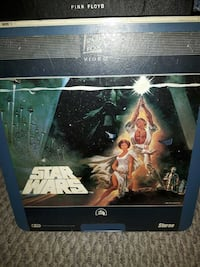 Star wars laser disc Burnaby, V5B 2N4