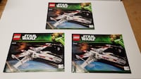 LEGO 10240 STAR WARS UCS Red Five X-Wing Complete - No Box YORK