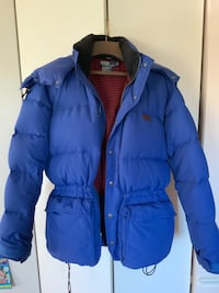 Polo water resistant down jacket  worn only couple of times, like new. Derwood, 20855