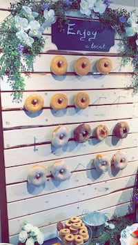 Donut wall rental Kitchener, N2N 1X1