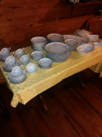 assorted ceramic plates and bowls Charlotte