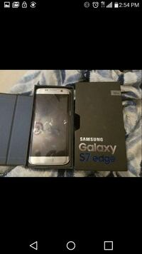 silver samsung galaxy s7 edge with box Vancouver, 98665