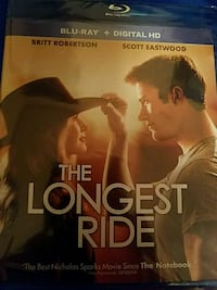 The Longest Ride Blue Ray DVD Richmond, 40475