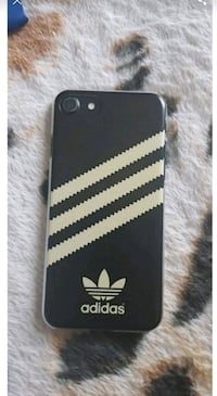 black iPhone 7 and black adidas case South Yorkshire, S65 1RZ