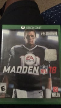 Madden NFL 18 Xbox One game case Round Rock, 78664