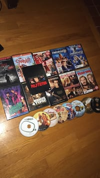 assorted movie DVD case lot Inwood, 25428