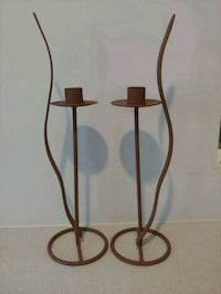Brown candle holders set Auburn, 30011