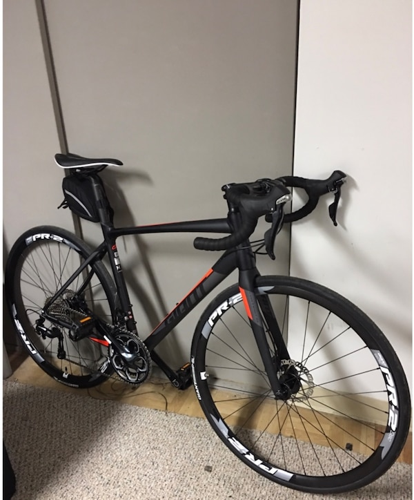 75a8000bf9d Used 2017 Giant contend SL1 disc size - M for sale in New York - letgo