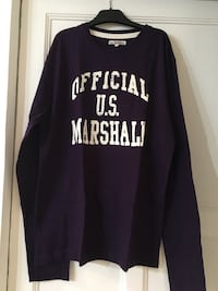 T-shirt us Marshall parme T.xl homme