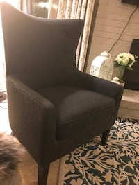 Charcoal Accent  Chair Edina, 55436