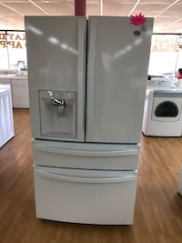 White Kenmore Double French Door Refrigerator  Woodbridge, 22191