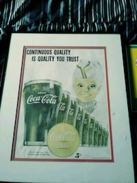 Old coca-cola signs picture are from early 50s Apopka, 32703