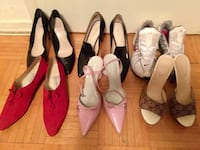women's assorted pairs of shoes Toronto, M9L