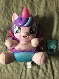 purple and white Fisher-Price toy 3732 km