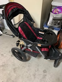 Magenta and black Baby stroller (Jogger) North Las Vegas, 89084