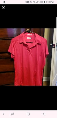 Bright pink polo shirt Broussard, 70518