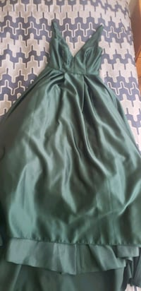 Betsy and Adam green dress size 6 perfect for prom or graduation  Woodbridge, 22192