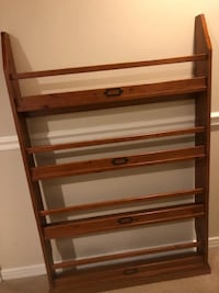 Pottery Barn 4-Shelf Bookshelf RESTON