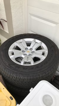 """17"""" Chevy Colorado Wheels Tires 6x120 Bolt Pattern (4TIRES) $600 OBO"""