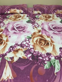 Brand new queen size bedsheets fixed price 3123 km