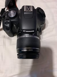 black Canon EOS DSLR camera LAREDO