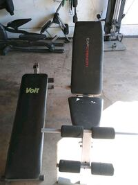 2 work out bench
