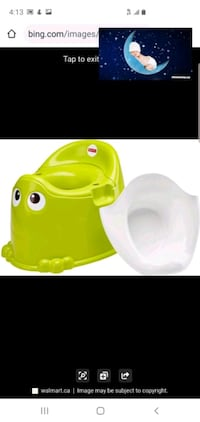 potty training, from Fisher price. rarely used.