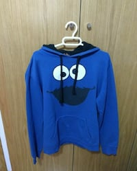 Cookie Monster Pull Over sudadera con capucha