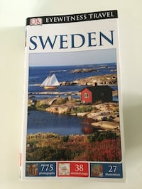 Sweden eyewitness travel guide book Brookline, 02446