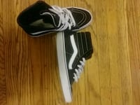 Black and white high top vans Baltimore, 21212