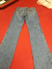 blue-washed straight-cut jeans Pell City