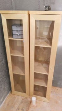 Double glass cabinets  Manalapan Township, 07726
