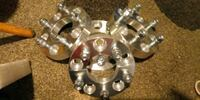 Wheel adapters (spacers) 5x4.75 to 5x4.50