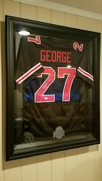 """2 Ohio State Jersey Frames """"Jersey Not Included""""  305 mi"""