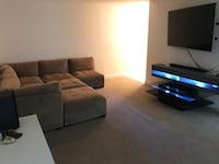 LED Floating TV Stand, coffee table & tv wall mount