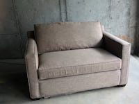 gray fabric 2-seat sofa Washington, 20018