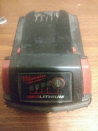black and red Milwaukee power tool battery Los Angeles, 90011