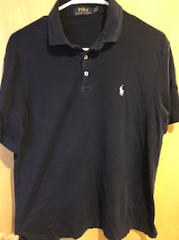 Dark Blue Polo Ralph Lauren Shirt