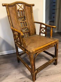I set of two chairs like new  $20 each 539 km