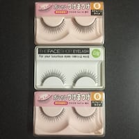 three pairs of false eyelashes in packs Sacramento, 95828